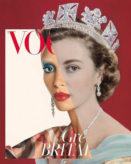 年度超模Adowa + 年轻时的超长待机女王