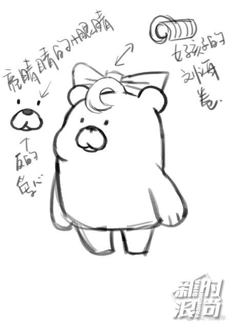 郑爽爸爸面膜形象——大壳熊
