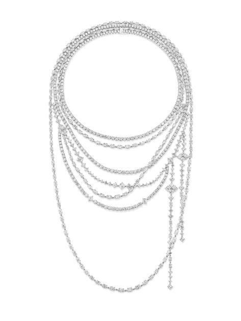 海瑞温斯顿绮隐Secret Combination高级珠宝系列钻石项链