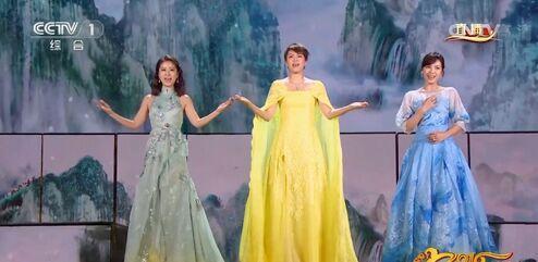 梁咏琪、林心如、刘涛合唱《山水中国美》