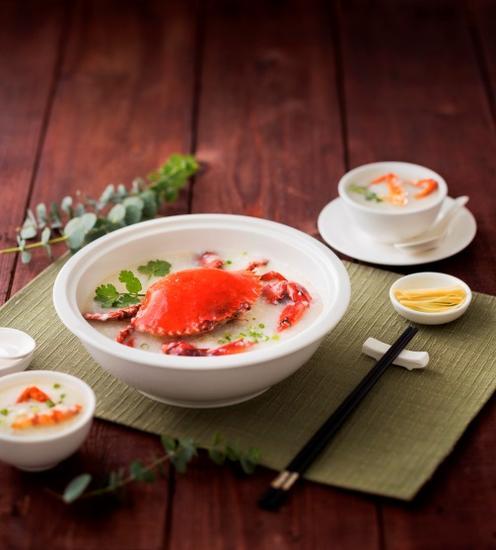 花膏海蟹粥