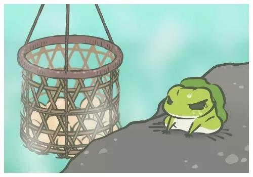 《旅行青蛙》中的主角