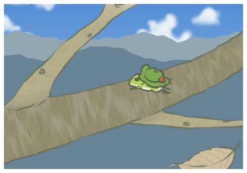 游戏《旅行青蛙》截图