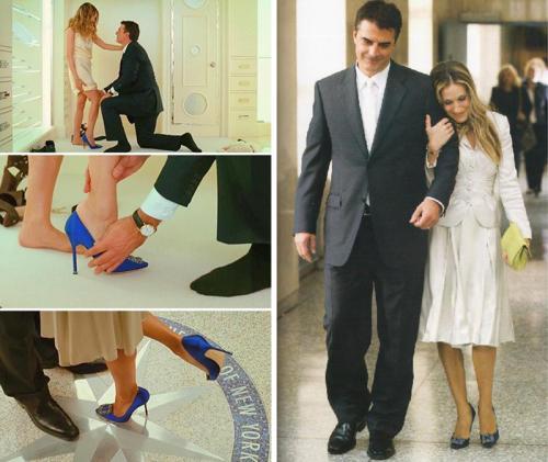《欲望都市》Mr.Big向凯莉求婚时送上的Manolo Blahnik