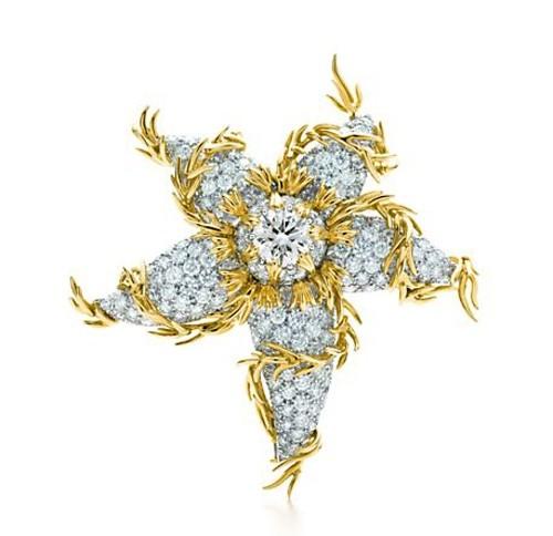 镶满钻石的海葵花