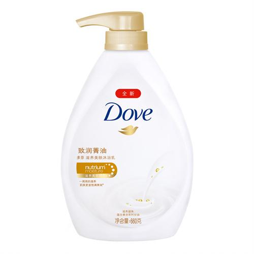 多芬致润菁油美肤沐浴乳