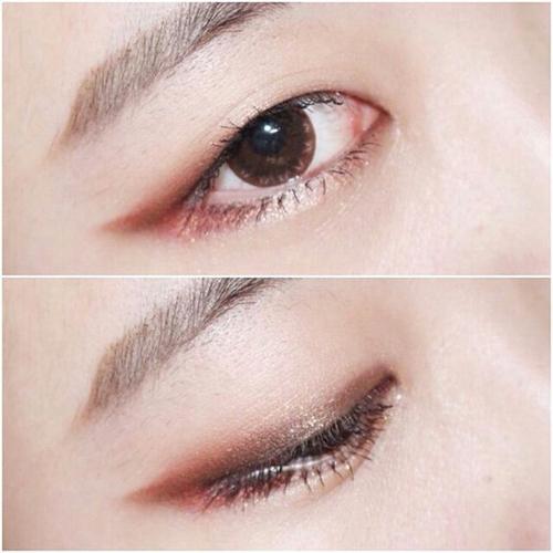 单眼皮眼妆