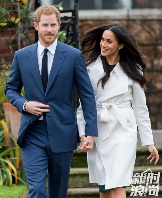 哈里王子和未婚妻梅根-马克尔