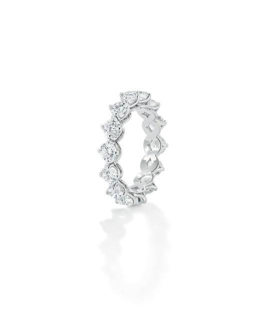 Forevermark白金钻石戒指2.97克拉