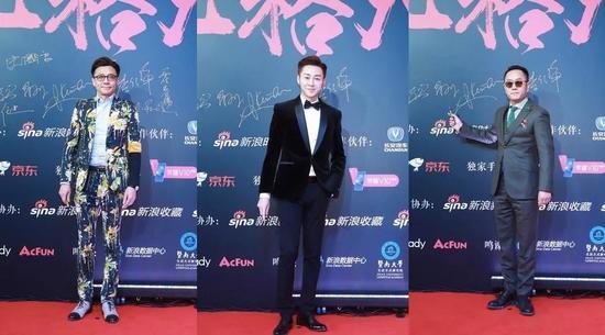 左起:时尚江湖节目出品人、主持人瘦马;时尚美妆护肤专家李铭泽;中国室内建筑设计师80后代表人物崔树