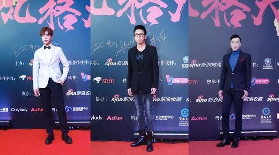 左起:明星造型师邓皓文;设计师王培沂;健康美肌顾问、生活美学家侯聪