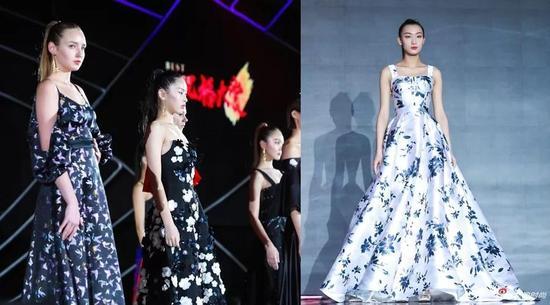 """非遗高级定制时装秀《王培沂2018春夏系列""""绒华锦时""""》"""