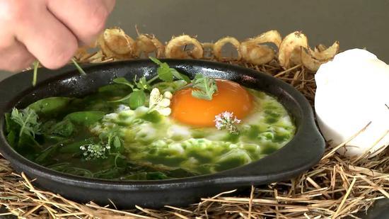 """NOMA名菜""""鸡和蛋"""""""
