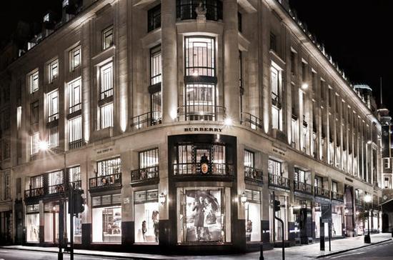 Burberry伦敦旗舰店