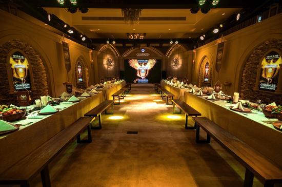 格林堡比利时修道院啤酒中国发布暨新品品鉴会晚宴现场