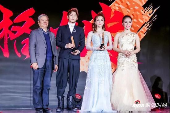 颁奖嘉宾:刘守本、华一
