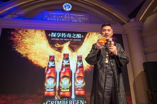 嘉士伯集团啤酒酿造师、嘉士伯中国人力资源副总裁汤澍浩先生