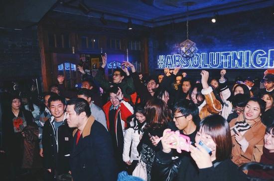 #百城绝对夜计划#上海站-复古摇滚跨年夜