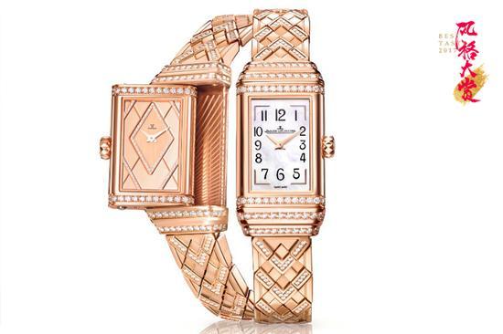 积家Reverso One Duetto Jewelry 双面翻转系列珠宝腕表