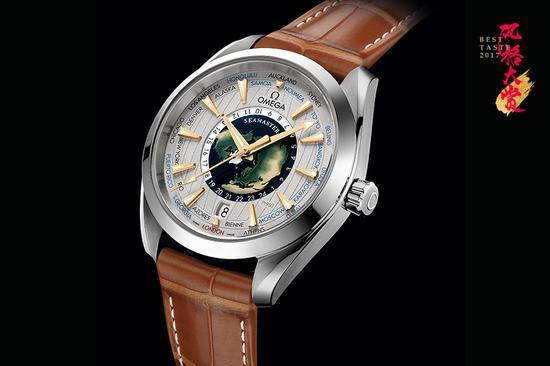 欧米茄海马系列Aqua Terra世界时至臻天文台限量版腕表
