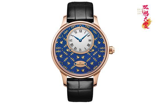 雅克德罗阿拉伯式金饰工艺腕表
