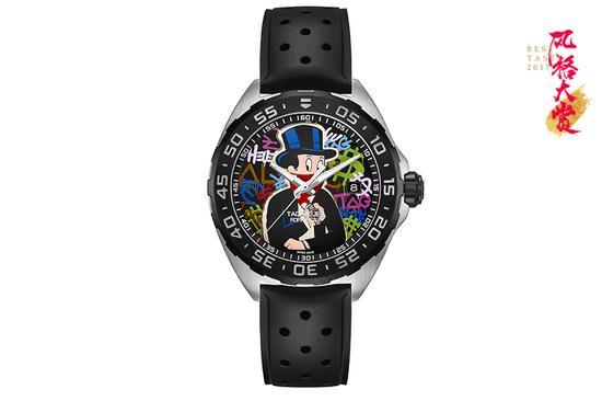 泰格豪雅 Alec Monopoly 特别款腕表