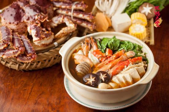伊藤酒菜处菜品:鱈场蟹火锅