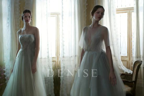 丹妮斯婚纱礼服2018品牌大片