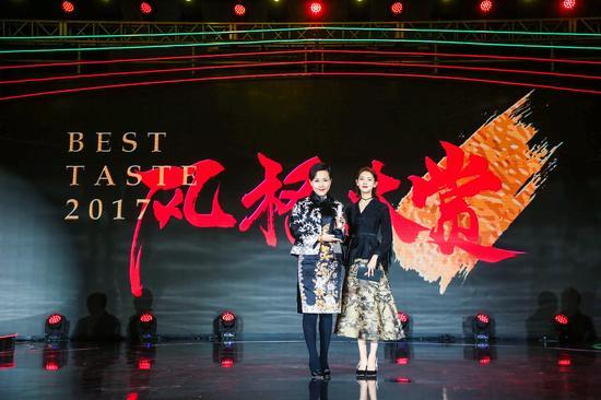 CHA LING品牌中国区总经理陈琦女士和演员陈瑶