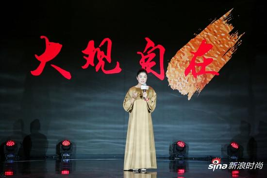 中国当代独立艺术家崔岫闻女士带来演讲《大观自在》