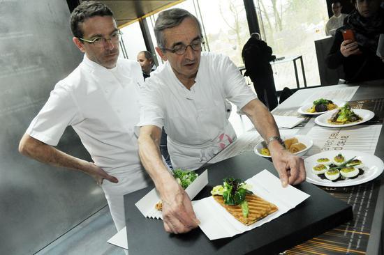 Le Suquet餐厅主厨Sébastien Bras