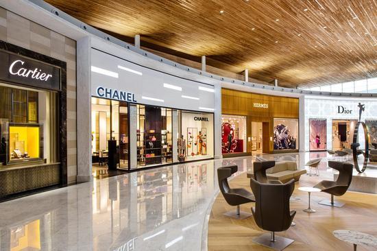 巴黎机场购物区