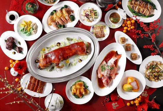 龙庭春节菜品合照