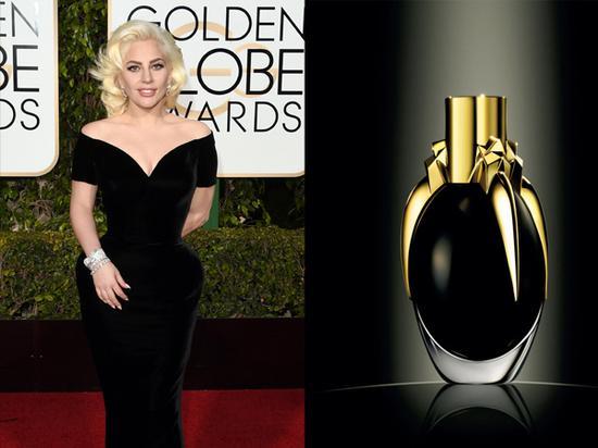 Lady Gaga联名香水