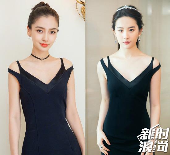 Angelababy-vs刘亦菲