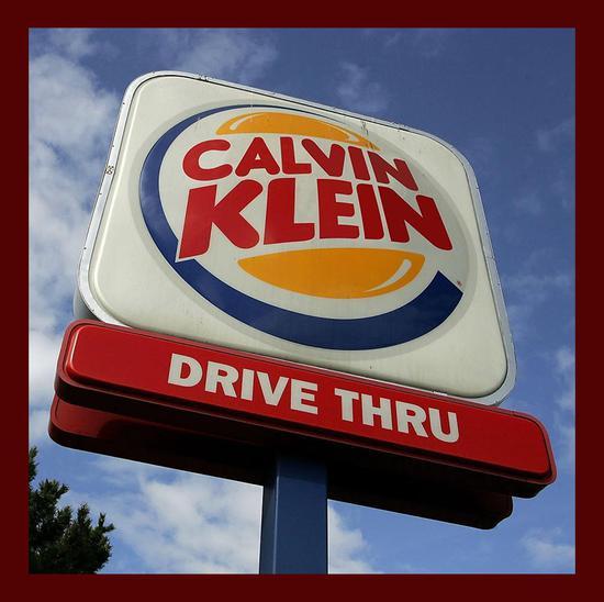 Calvin Klein + 汉堡王