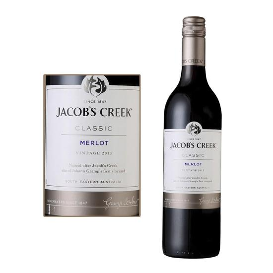 杰卡斯经典系列梅洛干红葡萄酒