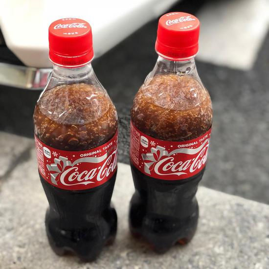 Coca-Cola 零下4度