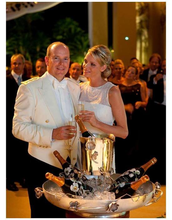 摩纳哥王子婚礼现场