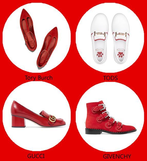 必败红色单品:裙子