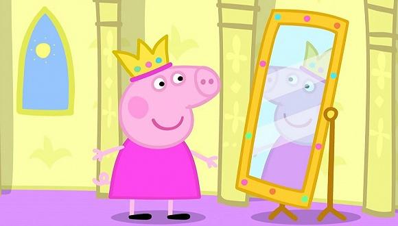 """精致的""""猪猪女孩"""""""
