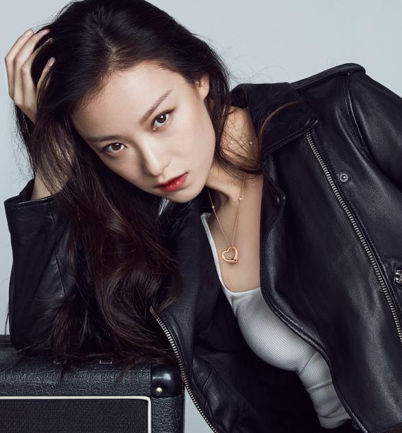 Tiffany & Co. 蒂芙尼中国区品牌代言人倪妮佩戴Elsa Peretti系列中国限量版项链