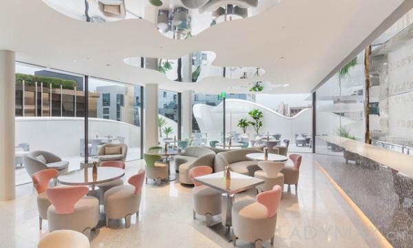 Dior咖啡厅店内设计