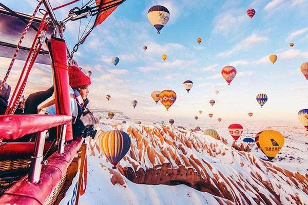 童话里的热气球 土耳其卡帕多西亚