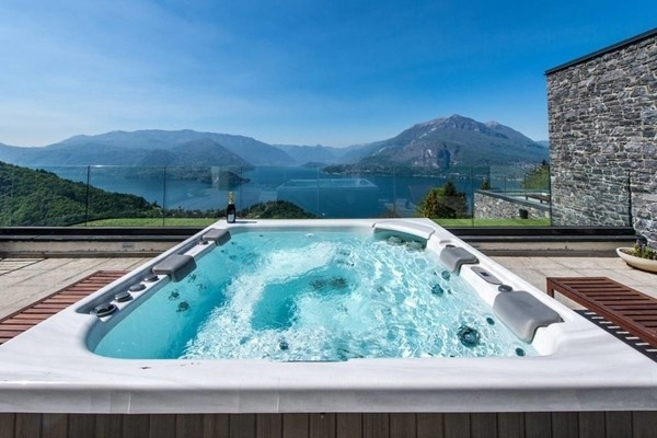Lake Como Spa Apartment in Perledo, Italy