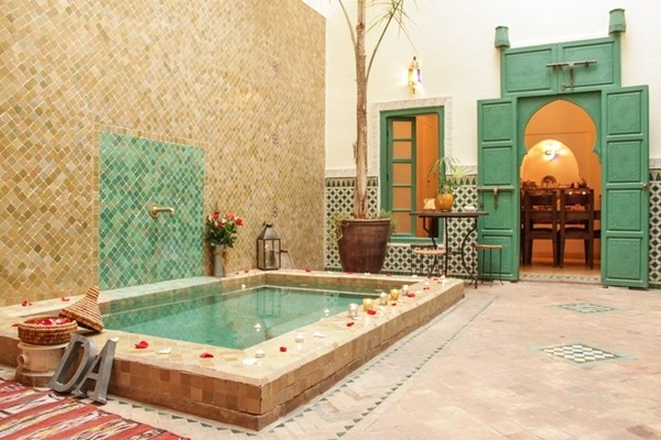 A Private Riad in Marrakech, Morocco