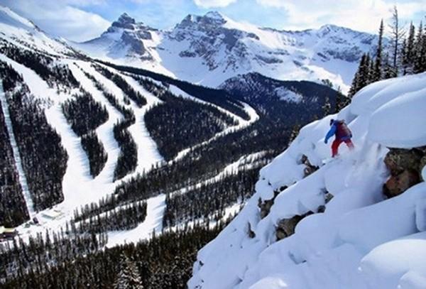 美国后山滑雪之乐