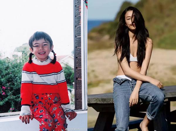 刘承羽是中意混血女演员、做过模特