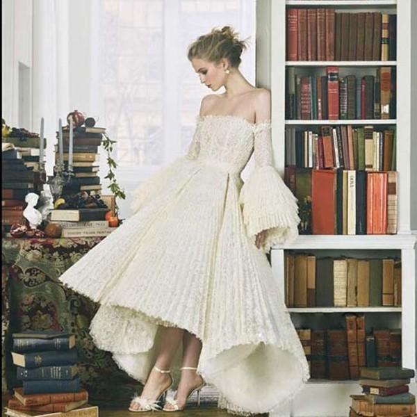 灯笼袖婚纱