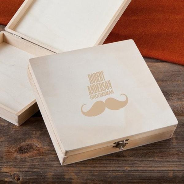 个性木质雪茄盒